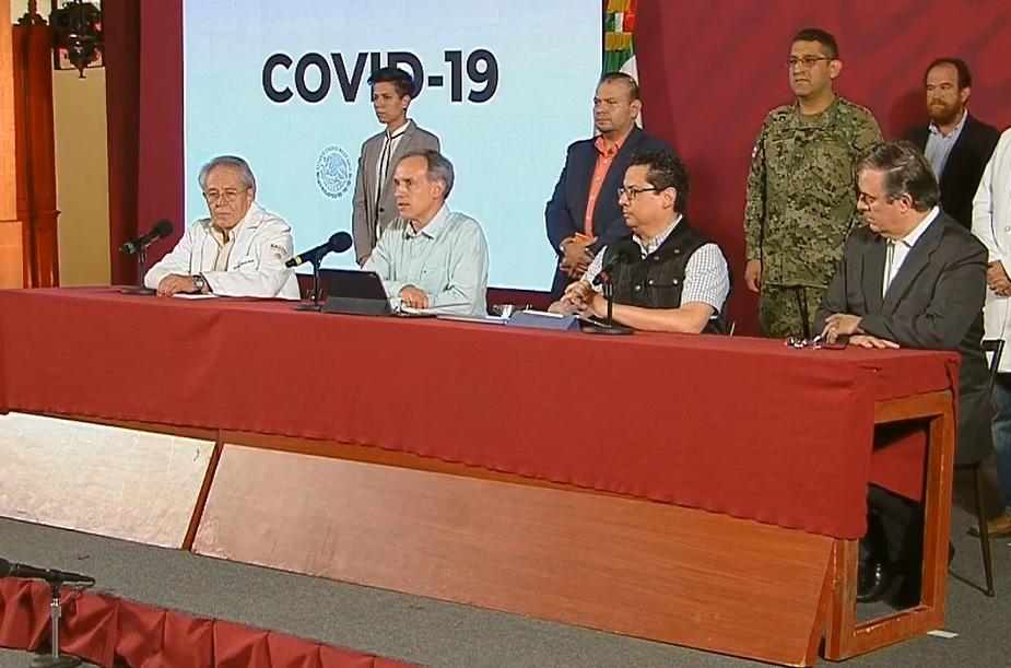 En México, aumenta a 16 muertos y 848 positivos a coronavirus; 'quédate en casa, es la última oportunidad de detener el virus': SSA