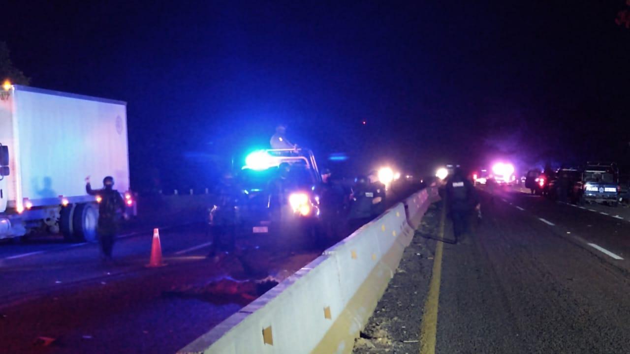 Un indigente murió atropellado cuando intentaba cruzar la carretera en Navolato